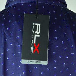 RLX Ralph Lauren Shirts - RLX GOLF Ralph Lauren Mens Polo Shirt Blue